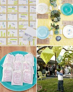 Another wedding favorite with confetti system pinatas in full effect too. #inspiration #decor