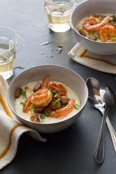 Shrimp and Grits /
