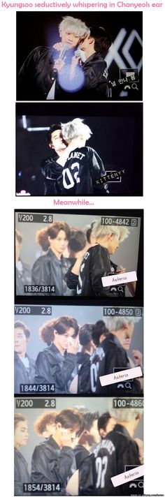 """Kai's like, """"So this is how you like to end it? Oh, okay then."""" I ship Kaisoo too hard, I can't."""