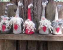 Softie Plush Nose Tickler Gnomes/Tomten- New More Kid Friendly Style - Your Choice of Pattern