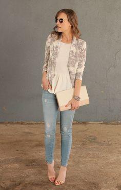 Outfit Ideen für schlichte Kleidung!