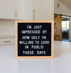 You can use your letter board to display a funny quote and bring personality to your home. Here are the best funny letterboard quotes! Word Board, Quote Board, Message Board, Felt Letter Board, Felt Letters, Quotes To Live By, Me Quotes, Friends Funny Quotes, Quotes Kids