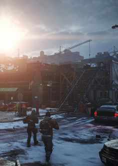 The Division, by Ryan HawkinsMore concept art here.