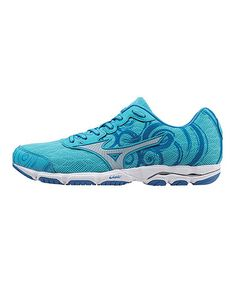 Another great find on #zulily! Blue & Silver Wave Hitogami 2 Running Shoe #zulilyfinds