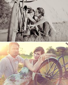 Bradley + Jordyn's Vintage Engagement Session | Green Wedding Shoes Wedding Blog | Wedding Trends for Stylish + Creative Brides