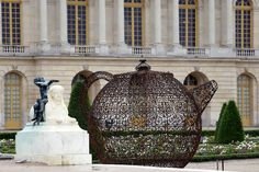 Pavillion e, by Joana Vasconcelos at  Palace of Versailles, France