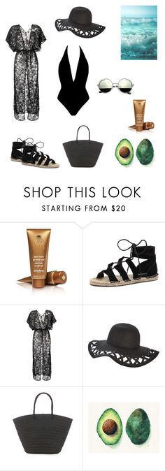 """""""Untitled #5"""" by tatuli-togoxia ❤ liked on Polyvore featuring Sisley, Bonbons, Amir Slama, Warehouse and Tracie Andrews"""
