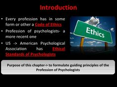 Counsellors Professional Ethics