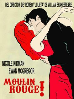 MOULIN ROUGE Minimalist Movie Poster