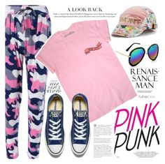 """""""Sport style"""" by vanjazivadinovic ❤ liked on Polyvore featuring Converse, polyvoreeditorial and twinkledeals"""