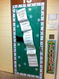 41 Best Classroom Door Ideas Images Decorated Doors Christmas