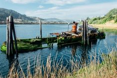 The Mary D. Hume hauled goods between the Rogue River and San Francisco for ten…