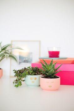 Decorar con plantas, DIY para personalizar tus maceteros