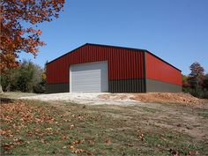 Metal Building Outlet is a top supplier of quality Metal Buildings. Affordable prices on prefabricated metal buildings, shops and garage kits. Shop Buildings, Steel Buildings, Exterior Design, Interior And Exterior, Metal Building Kits, Steel Garage, Window Display Design, Building Companies, Shop House Plans