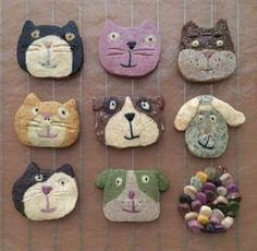 Icebox Cookies, Cat Cookies, Biscuit Cookies, Sugar Cookies, Cute Snacks, Cute Food, Pineapple Cookies, Cute Bento, Cookie Designs