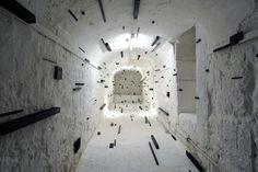 ESTHER STOCKER,  La solitudine dell'opera (Blanchot). Parte 2, 2010,  a cura di Ko.Ji.Ku. (Consorzio Giovani Curatori),  Studio 44 - Genova,  30.9.2010 – 12.11.2010