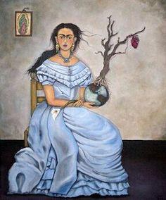 Frida Kahlo by David Flores Art