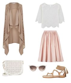 """""""Untitled #3"""" by eugenieperrin on Polyvore featuring Under One Sky, Topshop and Gucci"""