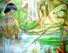 Lendas e Mitos da Amazônia: Iara ou Mãe D'Água