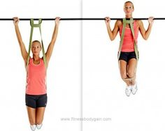 Band-Assisted-Pull-Ups bit.ly/1lyN1OH