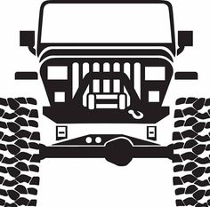 Jeep Stickers, Jeep Decals, Vinyl Decals, Jeep Tattoo, Jeep Quotes, Jeep Shirts, Jeep Wrangler Yj, Jeep 4x4, Silhouette Cameo Projects