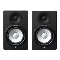 """Yamaha HS7 (Pair) Studio Monitor @ INR 38000. 2-way bass-reflex bi-amplified nearfield studio monitor with 6.5"""" cone woofer and 1"""" dome tweeter 43Hz - 30kHz frequency response."""