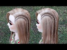 Braided Hairstyles, Cool Hairstyles, Mens Braids, Little Girl Hairstyles, Hair Looks, Short Hair Styles, Dreadlocks, Beauty, Color