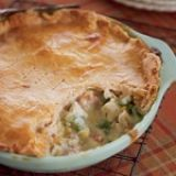 Turkey Potpie recipe: for mine, i use tarragon instead of sage, and i'm a sucker for crust so i make it a two crust pie