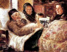 La joie de vivre by Ernst Josephson born April 16, 1851 in Stockholm, Sweden died November 22, 1906 (55) in Stockholm, Sweden