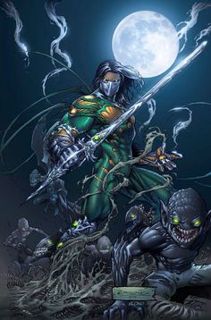 The Darkness by Michael Broussard Superhero Characters, Comic Book Characters, Comic Character, Comic Books Art, Comic Art, Comic Pics, Marvel Art, Marvel Heroes, The Darkness Game