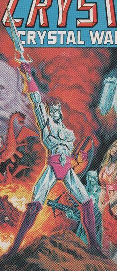 Crystar the Crystal Warrior (Crystalium hero)