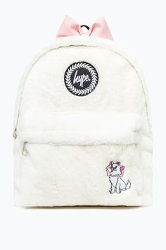 Disney™ Marie Faux Fur Backpack from the Next UK online shop Disney Handbags, Purses And Handbags, Rucksack Backpack, Mini Backpack, Fashion Bags, Fashion Backpack, Hype Bags, Teddy Pictures, Boys Backpacks