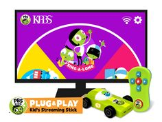 PBS KIDS Announces PBS KIDS PLUG & PLAY™, The First Kids' Television and Playtime Streaming Stick | PBS About