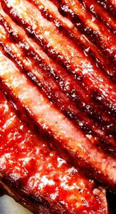 Baked Ham with Apple Cider Maple Glaze