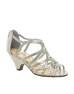 Image 1 of New Look Sun Low Silver Wedge Sandals