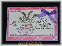 Creative Inspirations By Karen: Just Because gift card Holder