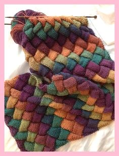 I am just loving using Mille Colori in entrelac. The colours are stunning and th. - Örgü modelleri - I am just loving using Mille Colori in entrelac. The colours are stunning and th… – Knitting - Easy Knitting, Knitting For Beginners, Knitting Stitches, Knitting Patterns Free, Knit Patterns, Stitch Patterns, Free Pattern, Finger Knitting, Loom Knitting