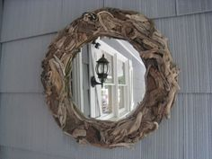Gorgeous Driftwood Mirror - LOVE!