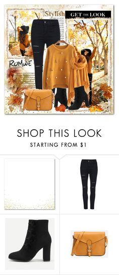 """""""Romwe 2/10"""" by sanela1209 ❤ liked on Polyvore featuring Privé"""