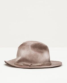 Image 1 of WOVEN HAT from Zara