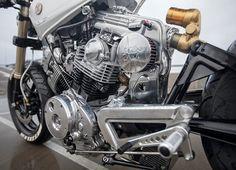 two yamaha motorcycles by moose motodesign personify good and evil Yamaha Xs1100, Motos Yamaha, Yamaha Virago, Yamaha Motorcycles, Custom Motorcycles, Custom Bikes, Scrambler, Ducati, Cafe Racer Seat