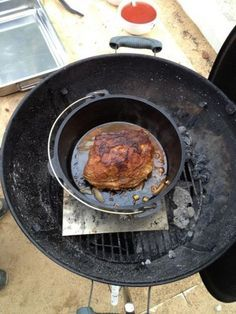 Pulled Pork im Dutch Oven nach Slater - Rezeptdatenbank der BBQ-Piraten
