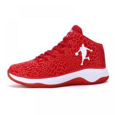 e794eda3ee60 Man Light Jordan Basketball Shoes Breathable Anti-slip Basketball Sneakers  Men Lace-up Sports