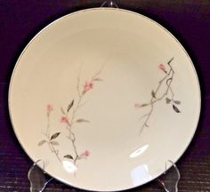 """Fine China of Japan Cherry Blossom Round Serving Bowl 9"""" 1067  #FineChinaofJapan"""