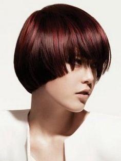 redish chocolately brown