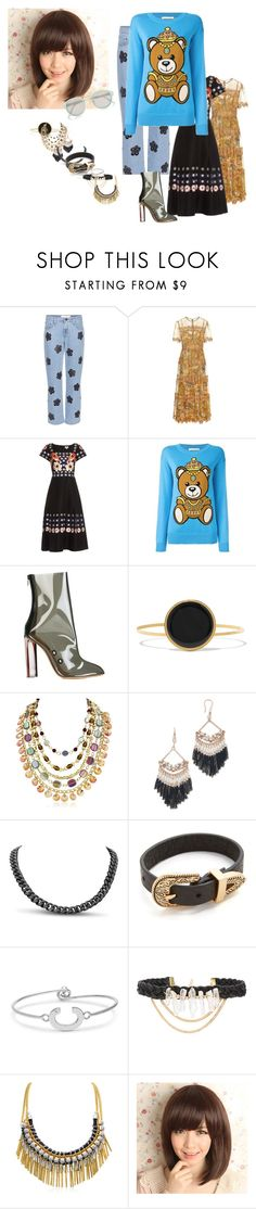 """""""all models"""" by joi-ashly ❤ liked on Polyvore featuring Victoria, Victoria Beckham, Zimmermann, Temperley London, Moschino, adidas Originals, Isabel Marant, Theia Jewelry, B-Low the Belt, Ettika and River Island"""