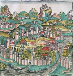 Constantinople (Nuremberg Chronicle)