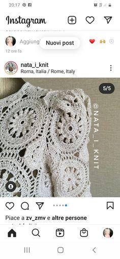 Crochet Necklace, Instagram, Jewelry, Blouse, Jewlery, Jewerly, Schmuck, Jewels, Jewelery