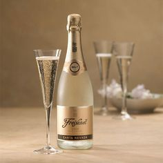 In Carta Nevada Brut, Freixenet plays up a playful, fruit-forward style. Considered an easy introduction to Spanish cava, it is a terrific first taste for those who have not yet had the pleasure of enjoying a lively, effervescent glass of bubbly.
