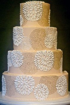 Pictures of Wedding Cakes - Wedding Cake Designs | Wedding Planning, Ideas & Etiquette | Bridal Guide Magazine